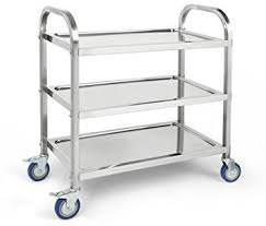 Trolley stainless steel