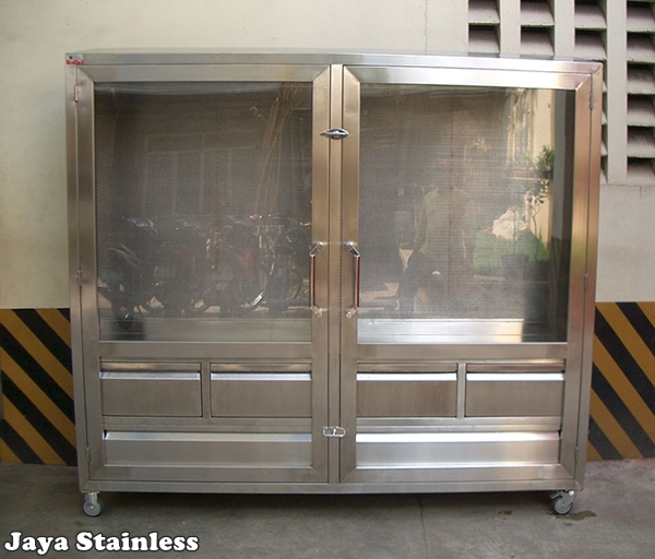 Tools cabinet Stainless - cabinet penyimpanan barang